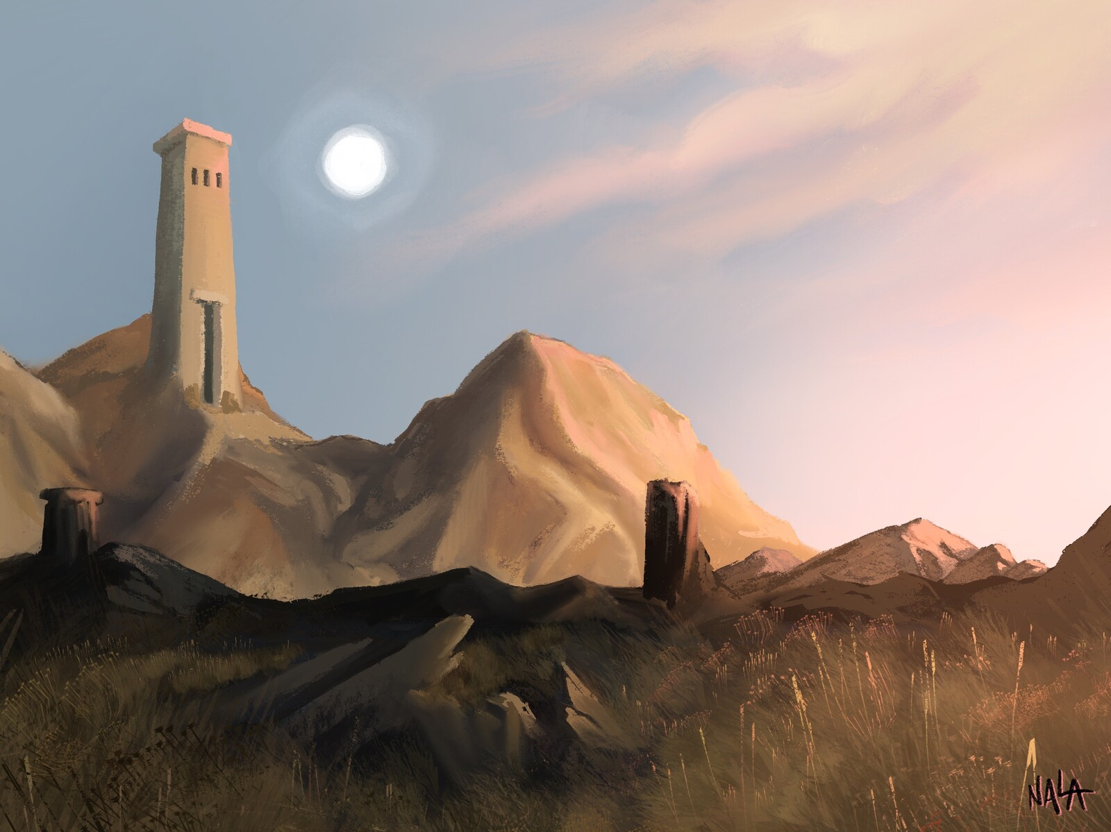 Environment Concept - The Temple of the Sun