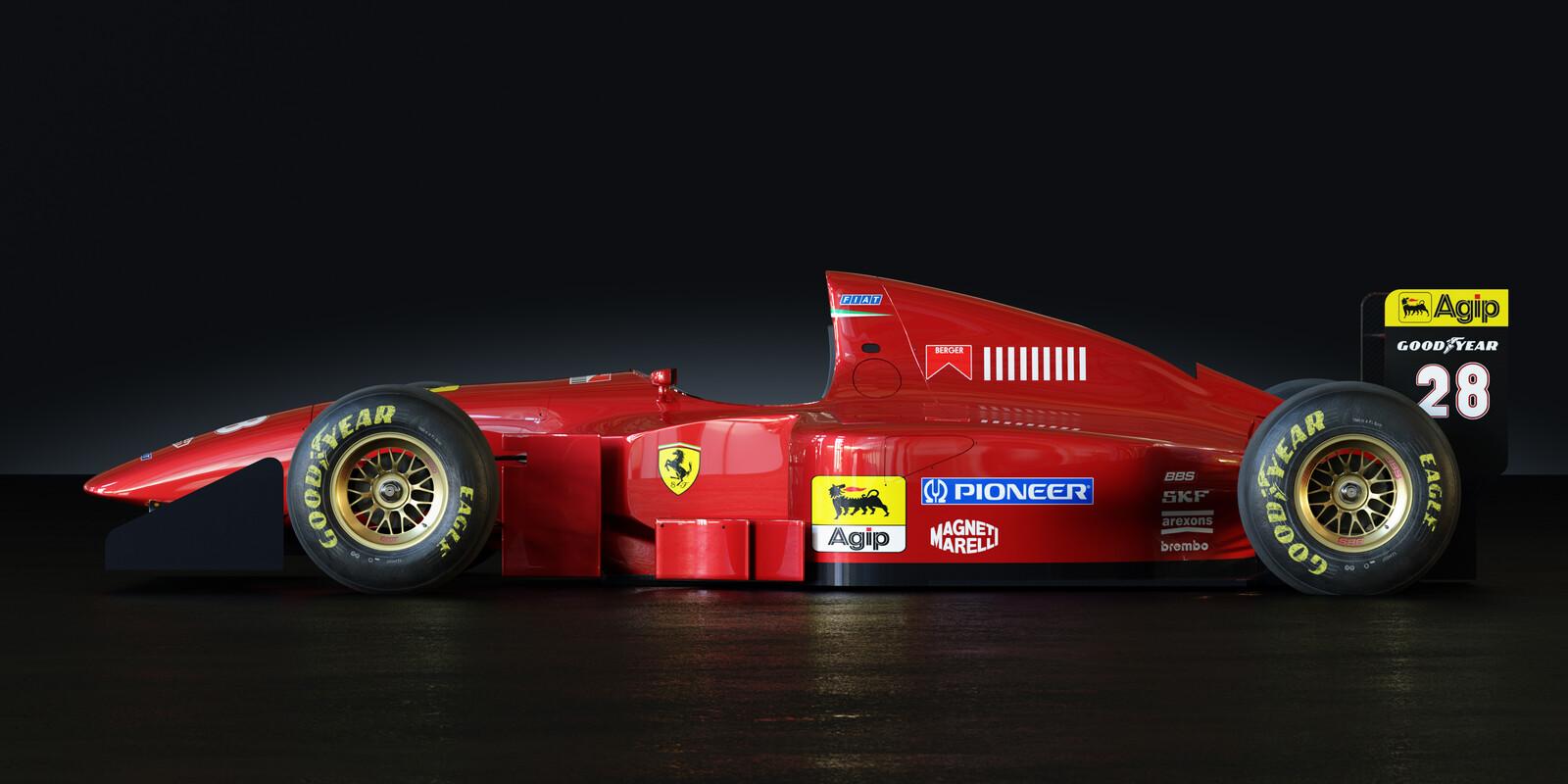 Ferrari 412T1b Cycles Version