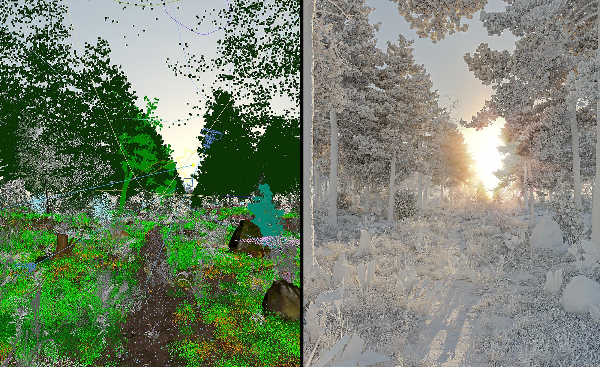 3DSMAX Viewport + Clay Render