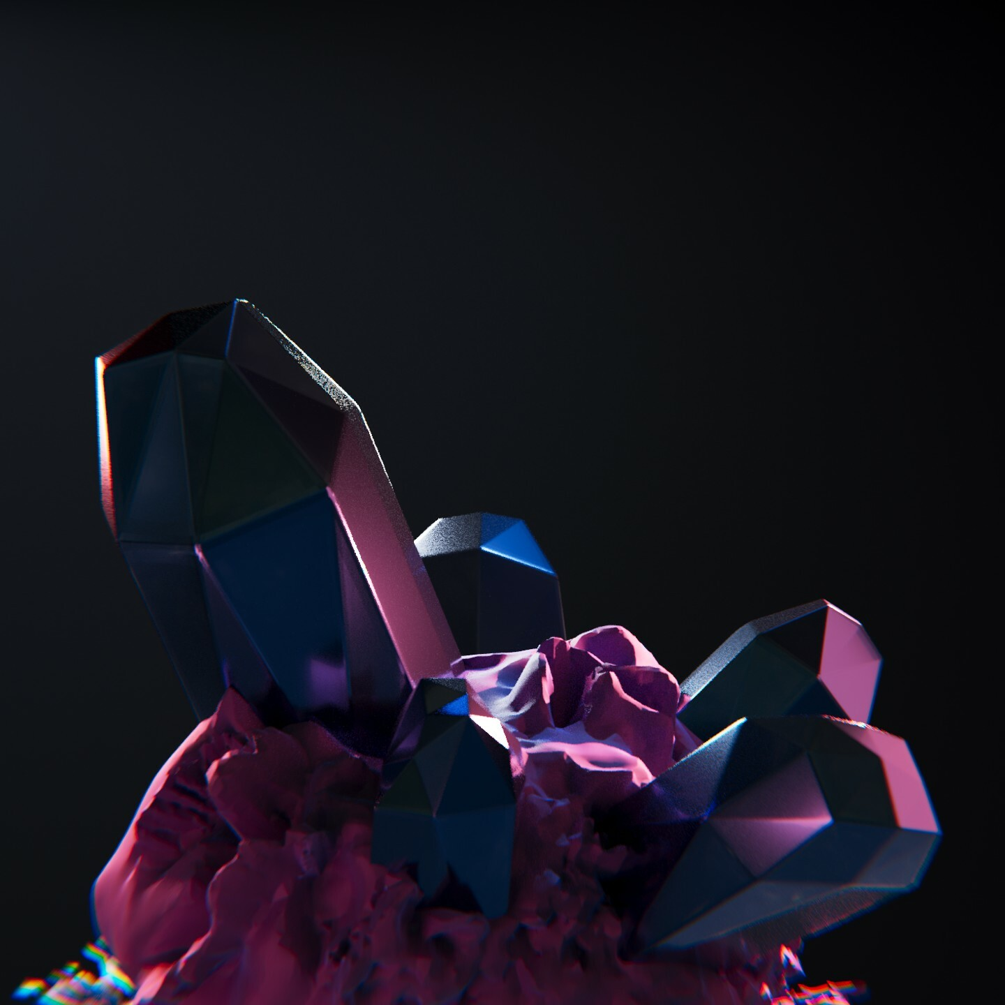 SculptJanuary2020 - Day 14 - Crystalline