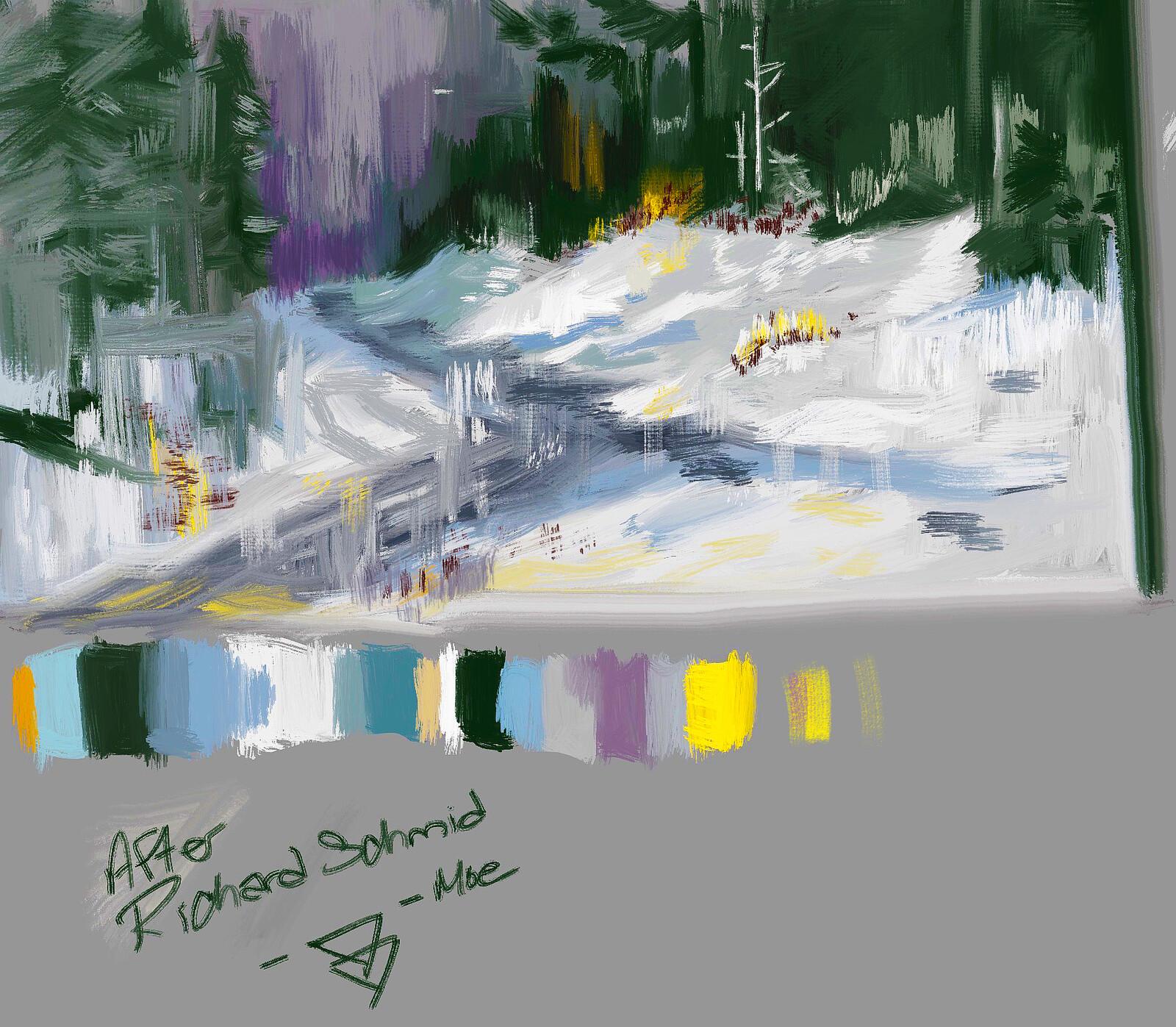 Landscape Study - After Scott Christensen - 012620