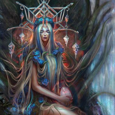 Lorenn tyr forest spirit redraw