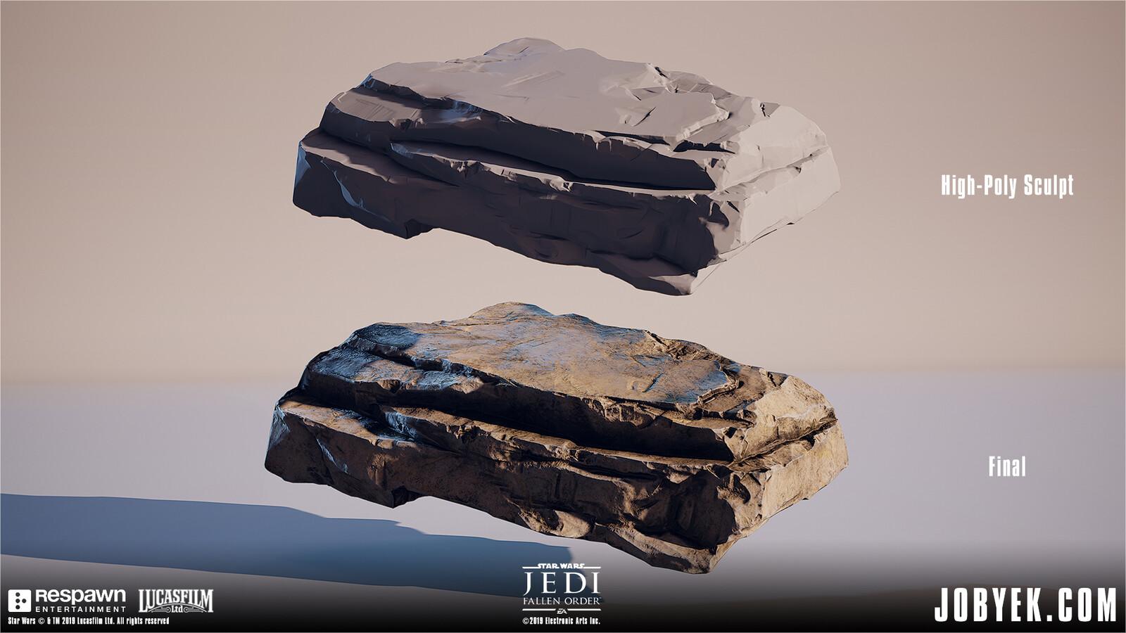 Sculpted & textured these mid-range vista rocks (never get up close)