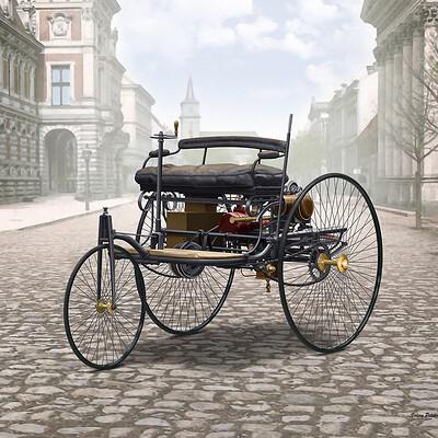 Valery petelin benz patent motorwagen