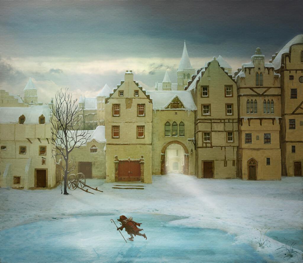 Tales of Despereaux pre-production concept  for Sylvain Chomet