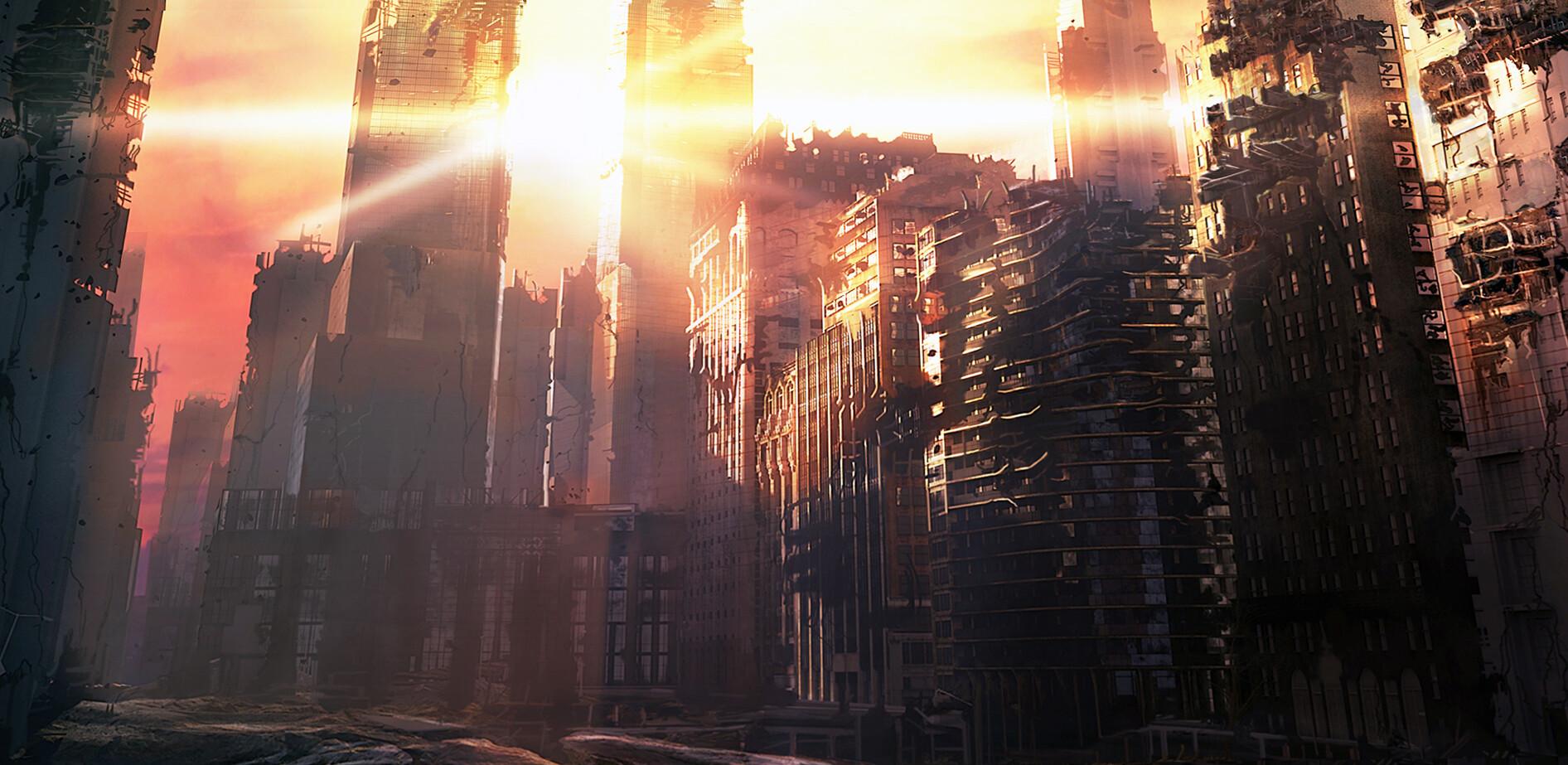City Destruction concept ( film pitch )