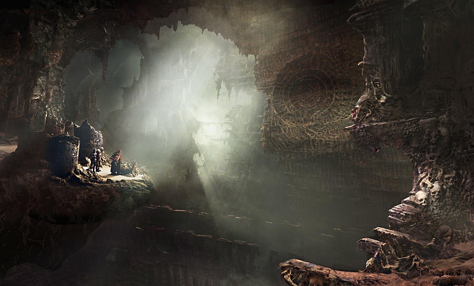 Hellboy2 Bethmoora Environment ( Guillermo Del Toro )