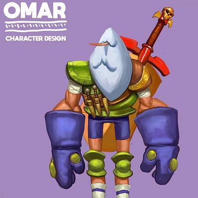 Juanda rico omar character design 1
