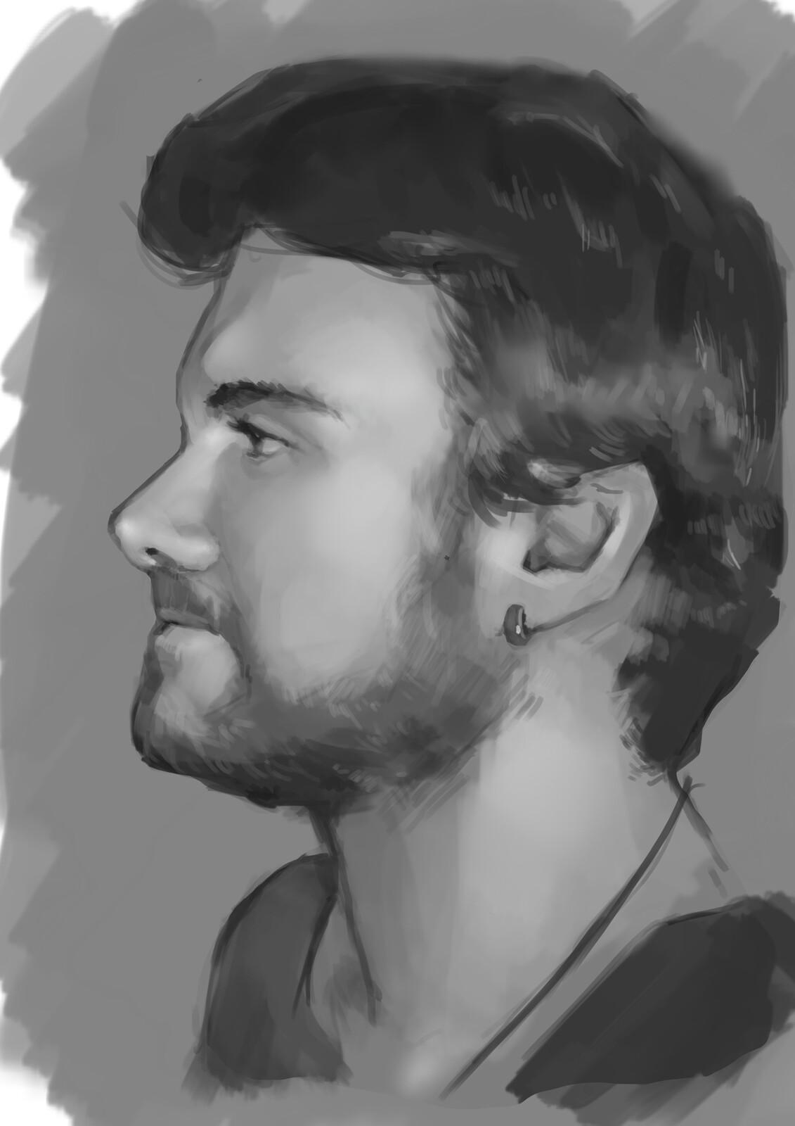 Portrait practice 02