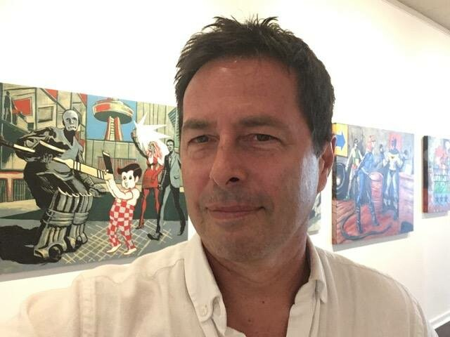 Art Dealer Jay Belmore.