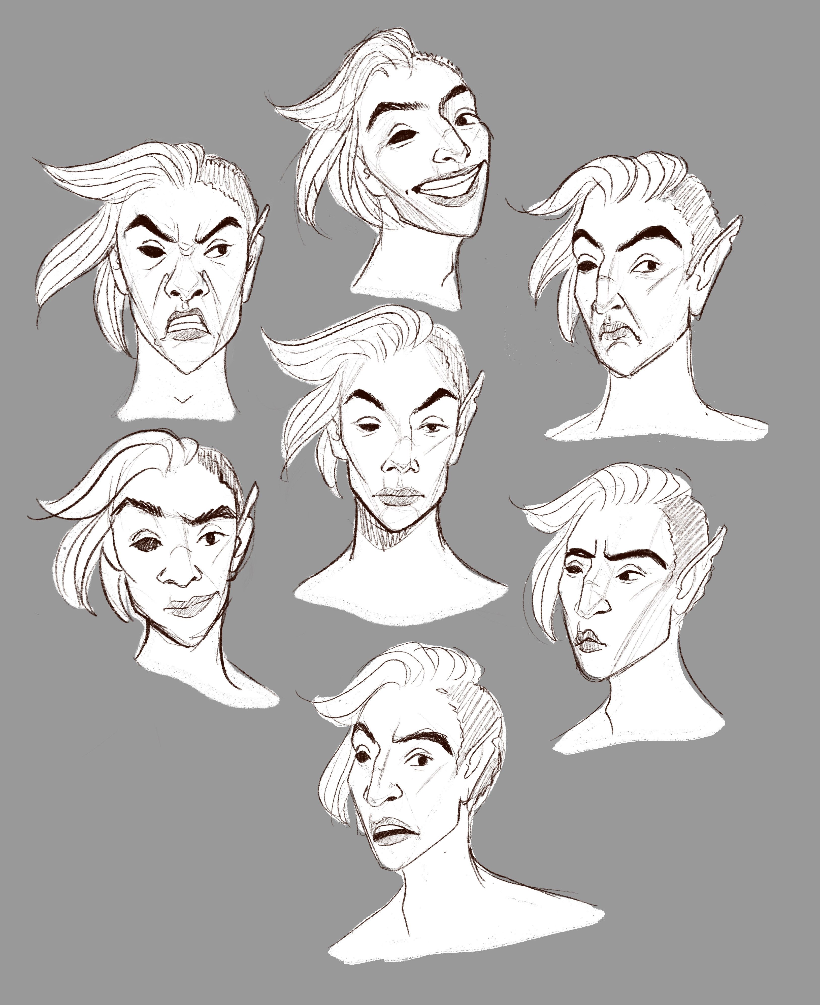 Pan Facial Expressions