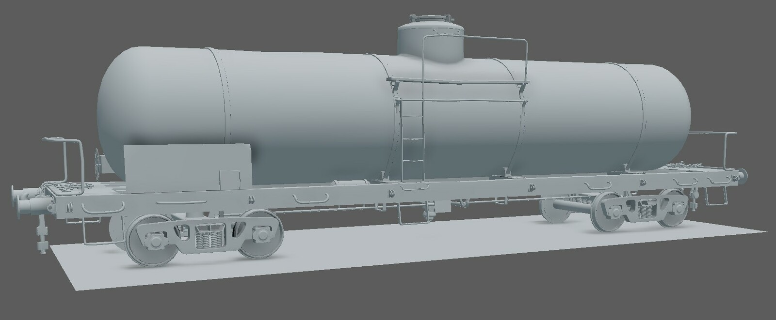 The model before I'd decided to change the direction of the project.