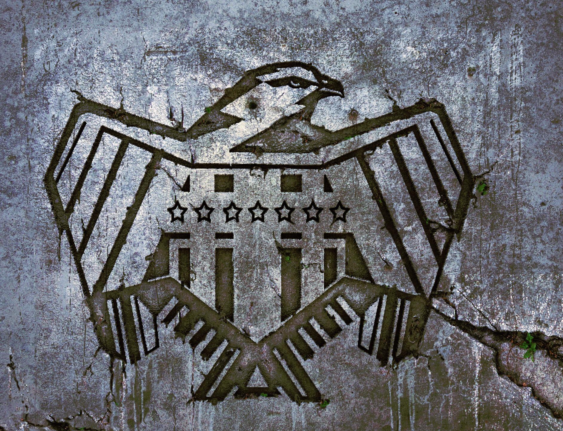 Dredd Eagle (New Design ) Dredd  - Alex Garland