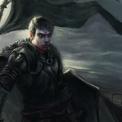 Ari ibarra black knight