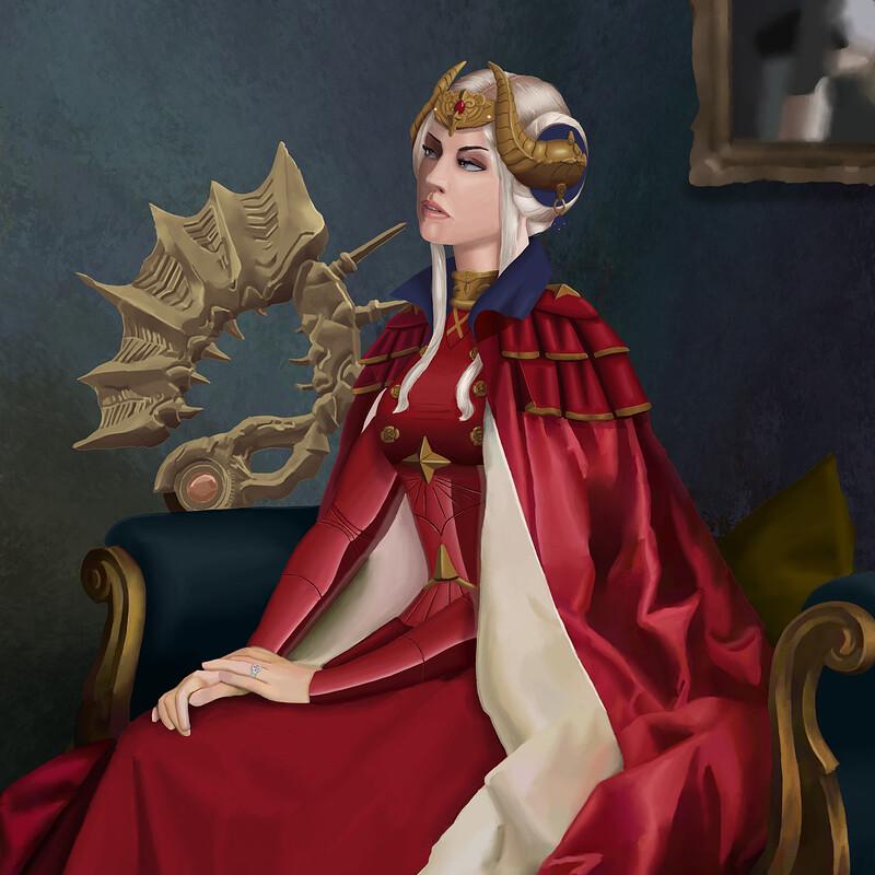 Royal Portrait of Emperor Edelgard von Hresvelg