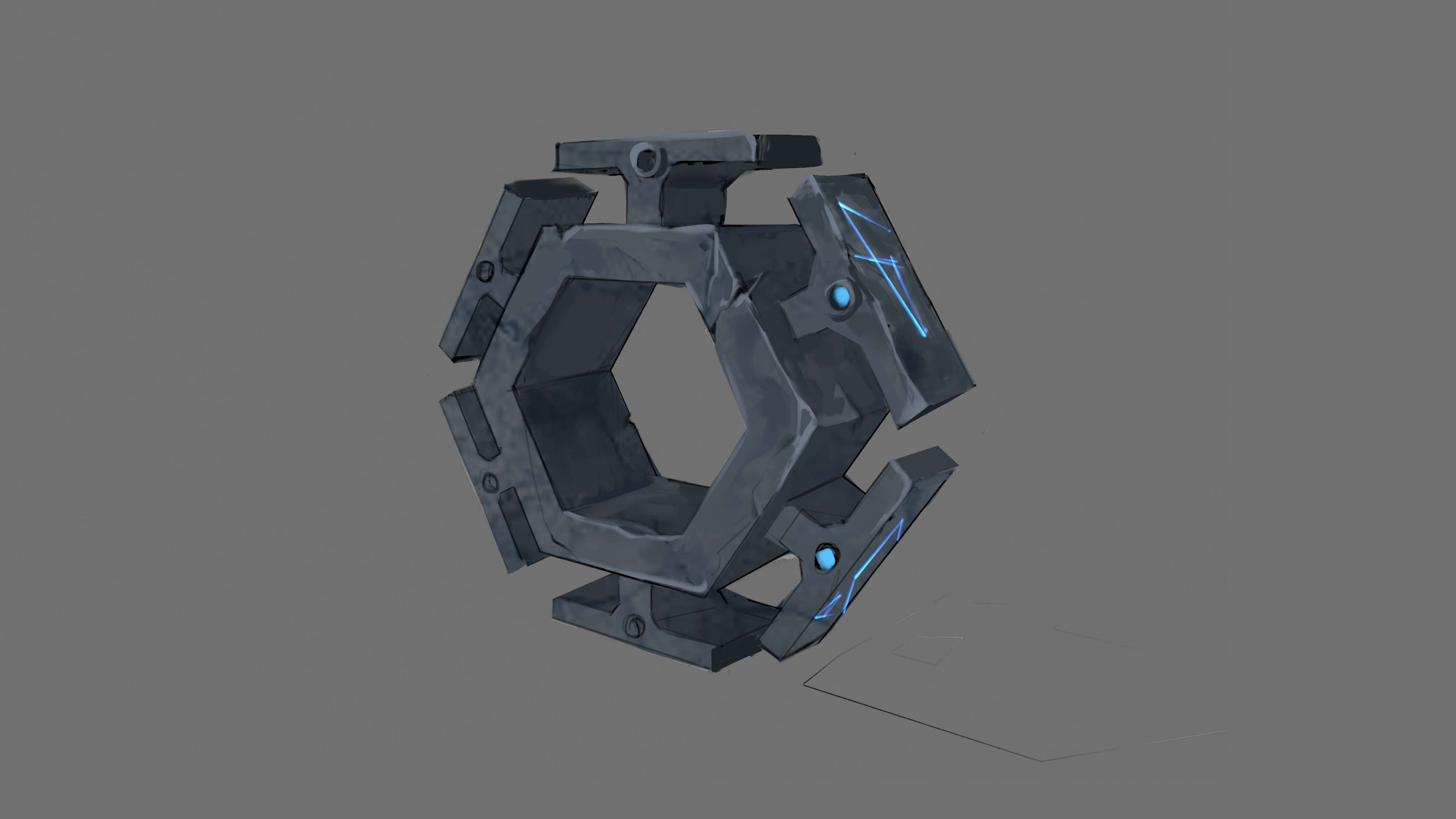 rotating block section concept