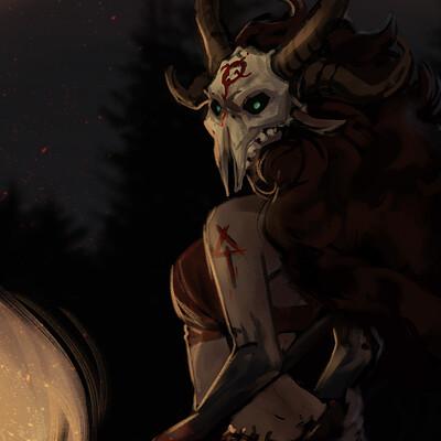 Ingvild grotlokken satyr rhianon 02