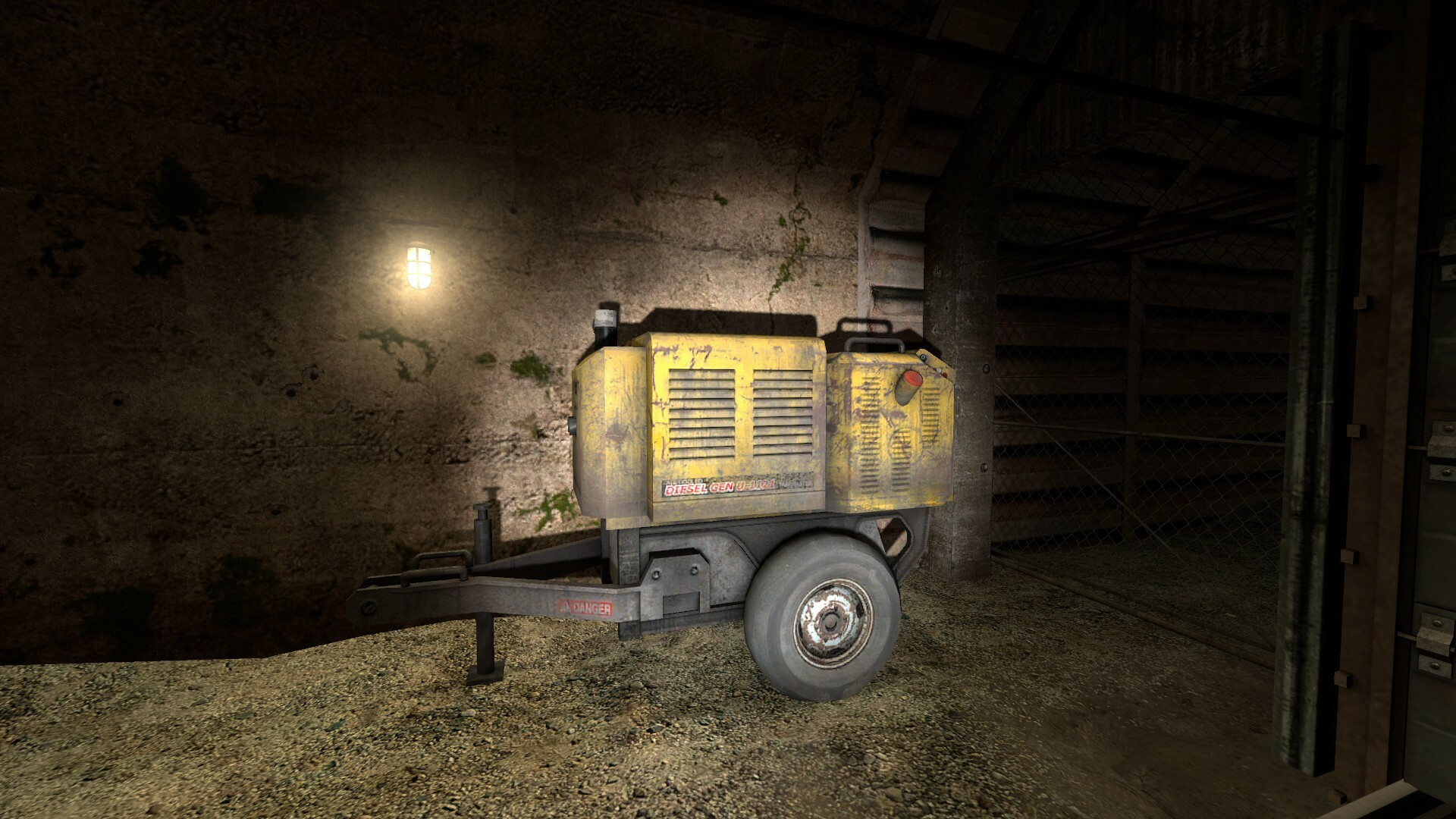 Generator from Half-Life 2 Episode 2 which inspired me