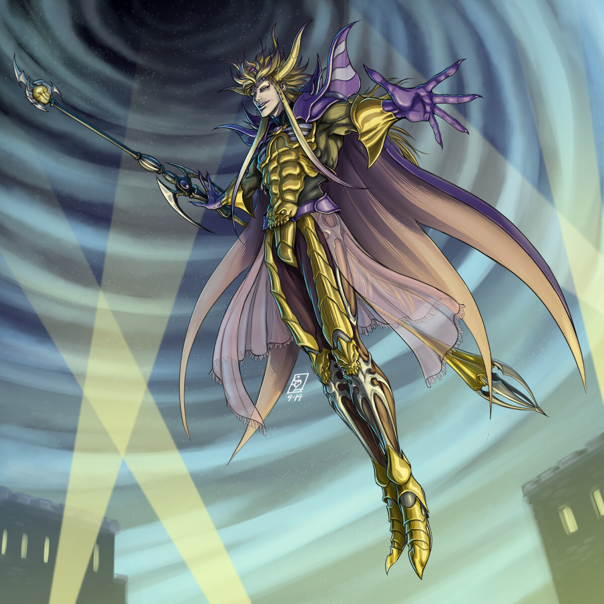 Palamecian Emperor Mateus (Final Fantasy II)