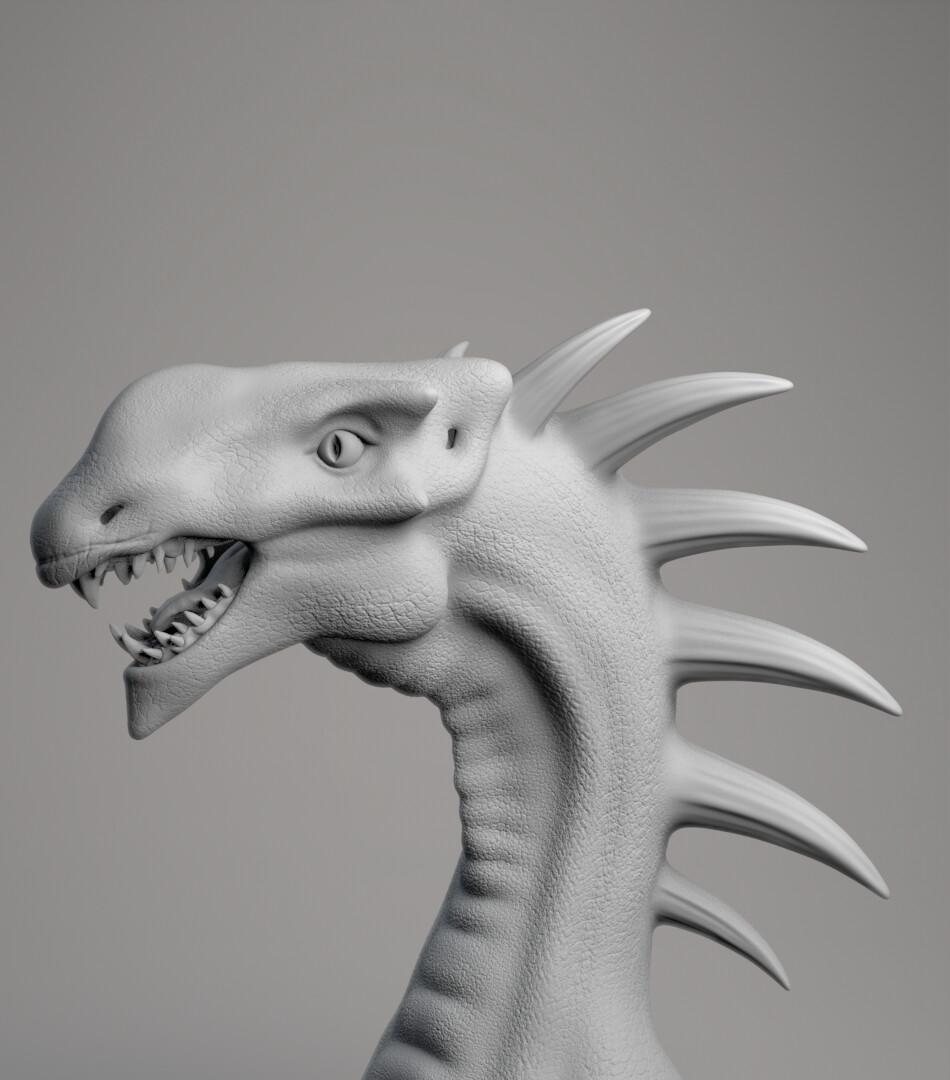 Dragon for Birthday Card