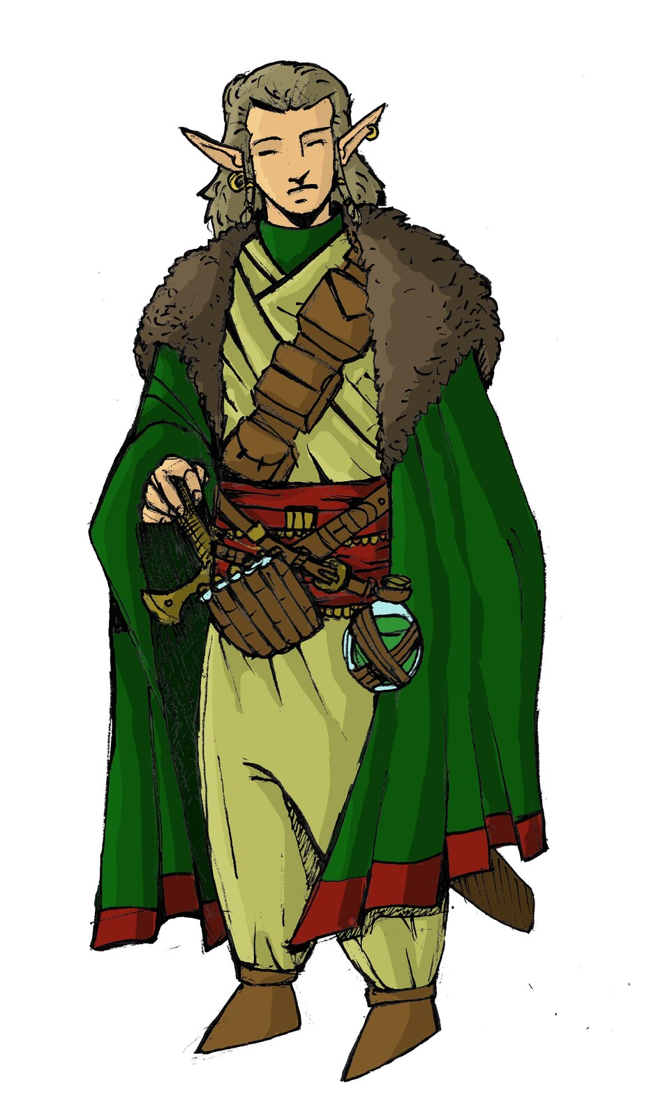 Wood Elf Druid