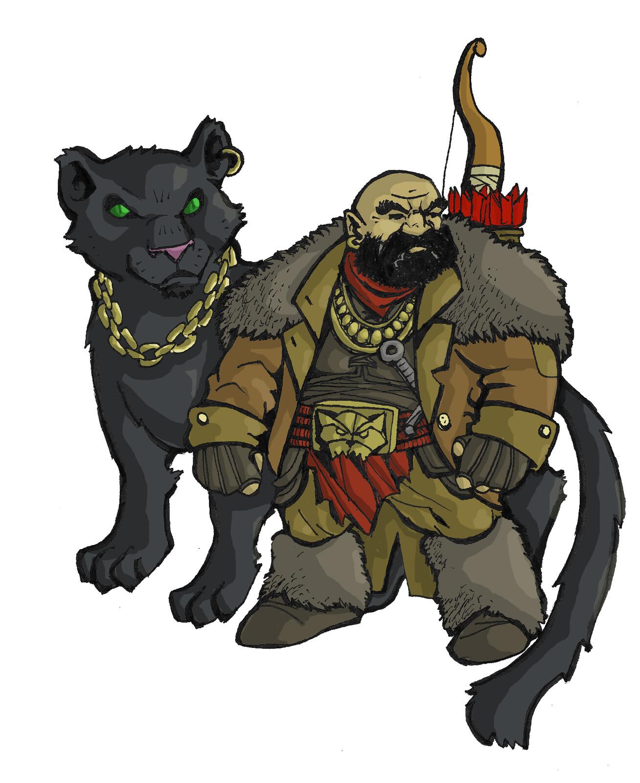 Dwarf BeastMaster