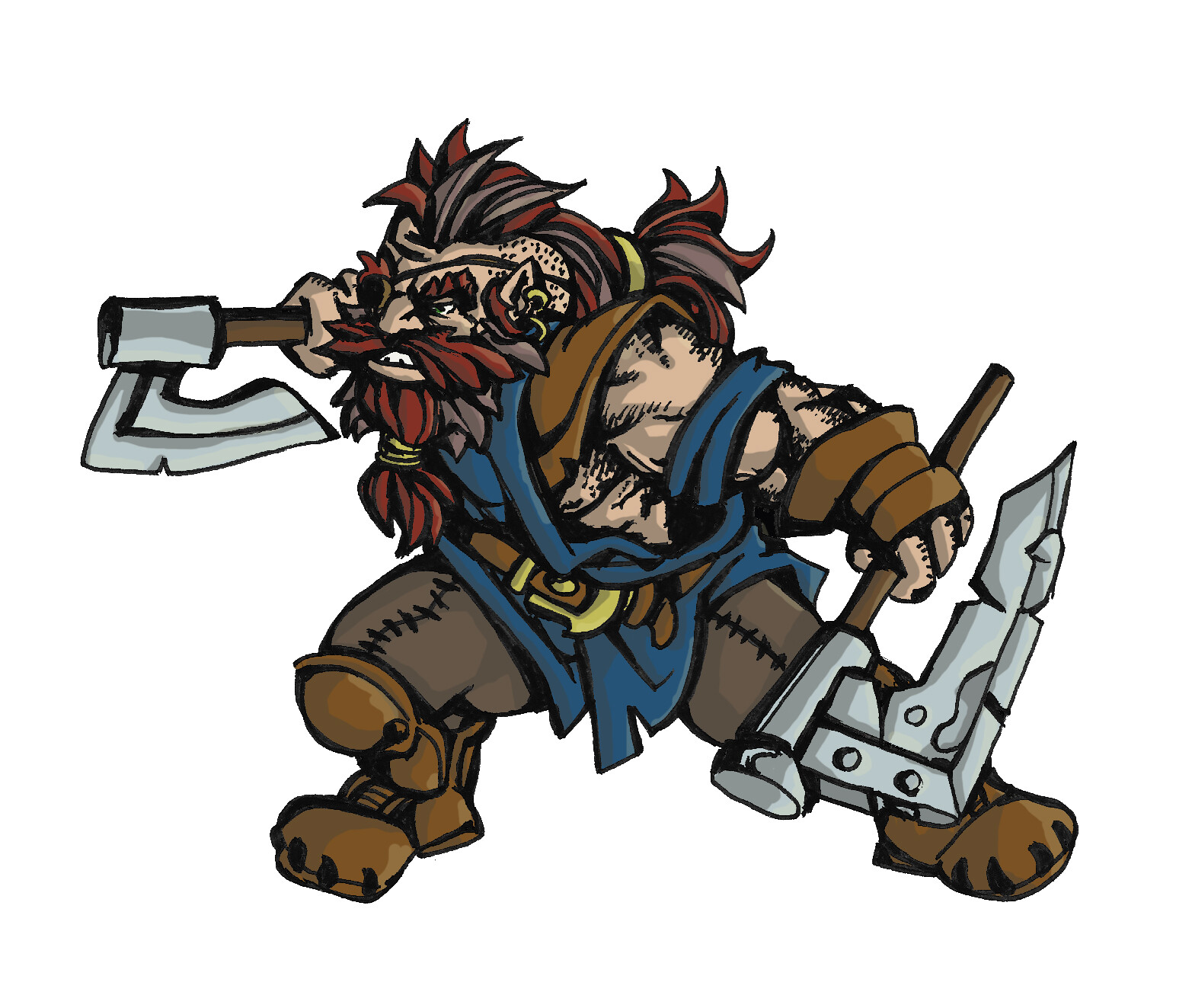 Dwarf Fighter / Barbarian
