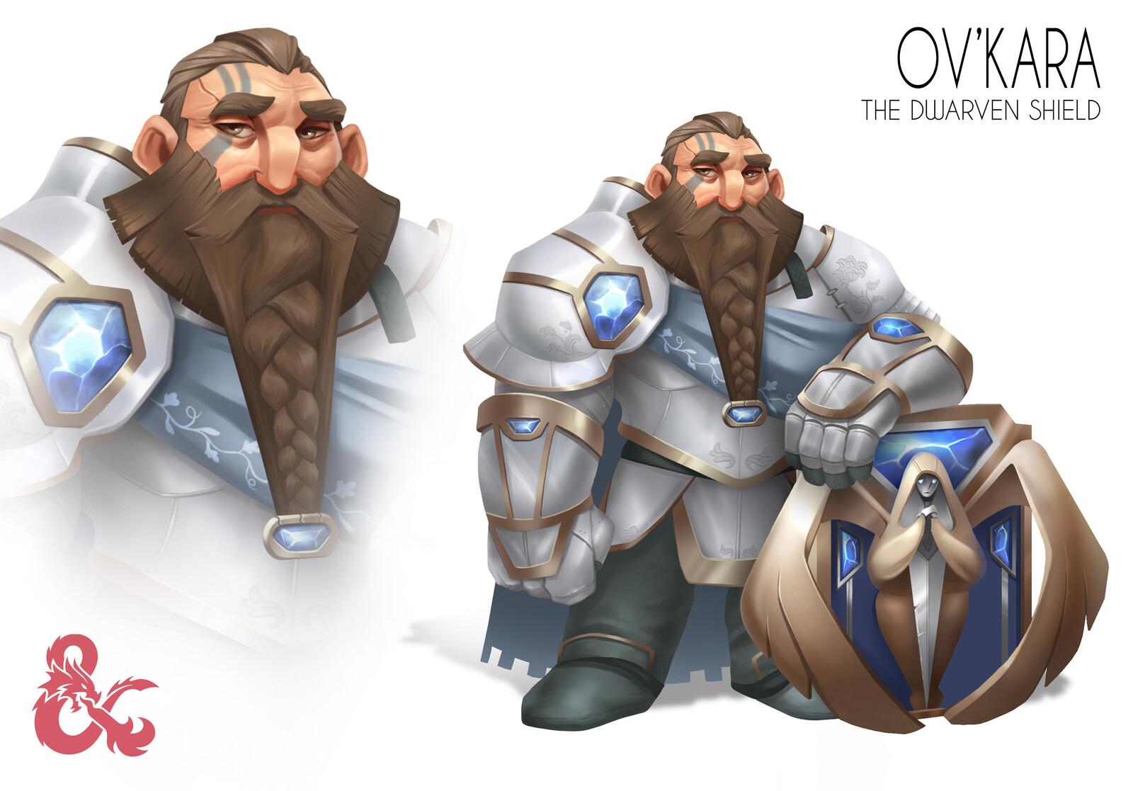 Ov'Kara, the Dwarven Shield