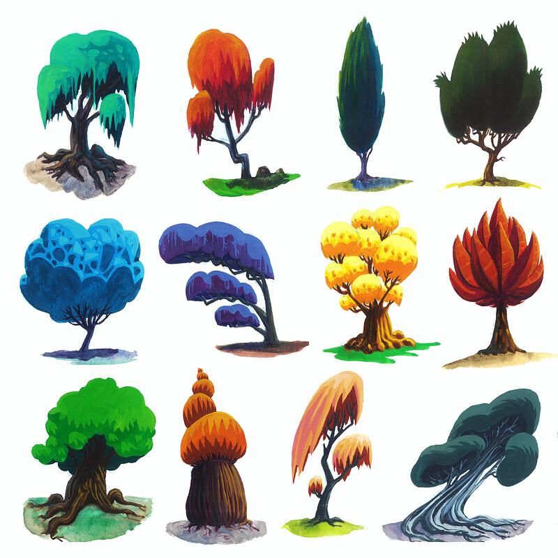 Tree designs 2