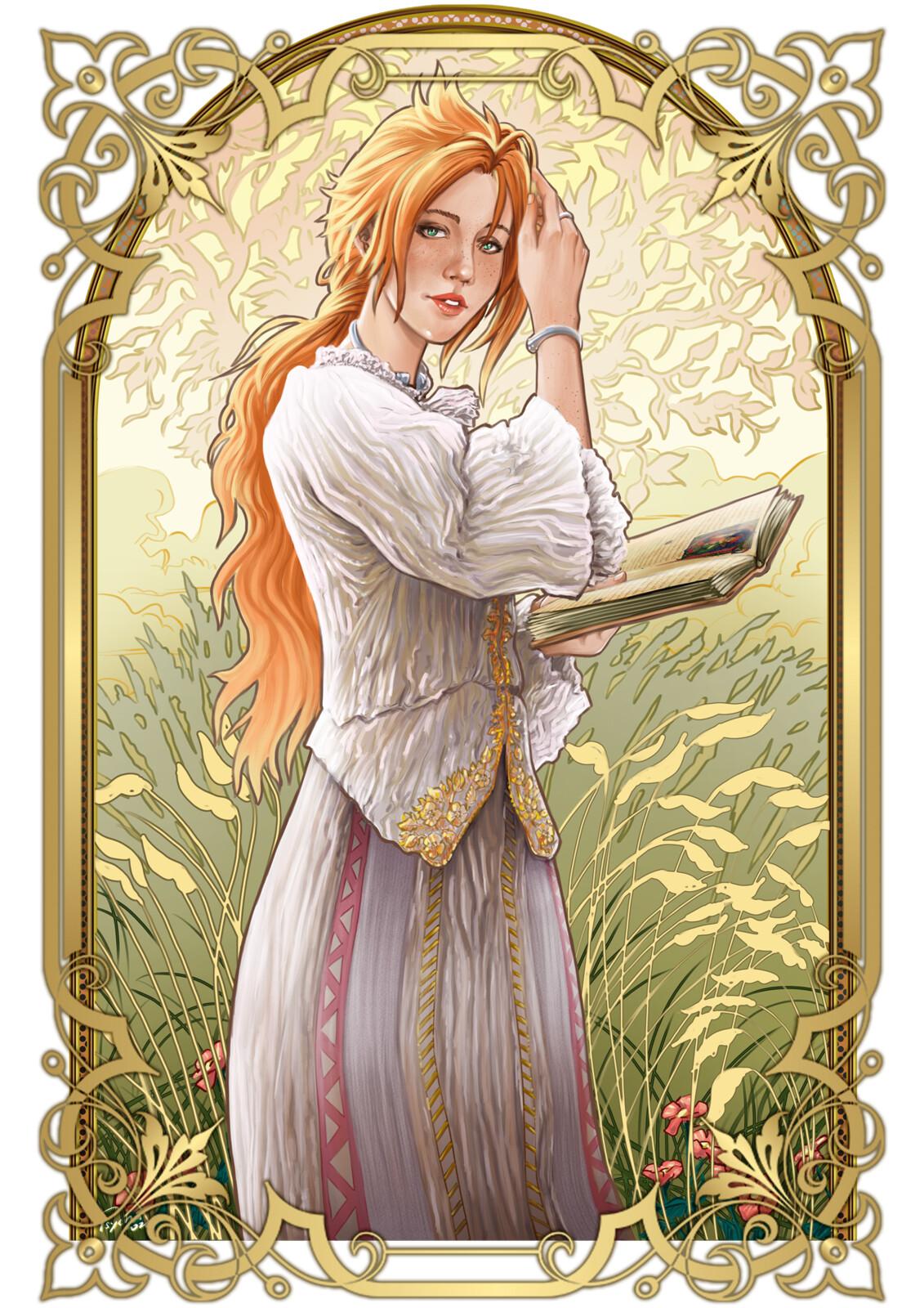 Lisa, Art Nouveau Style