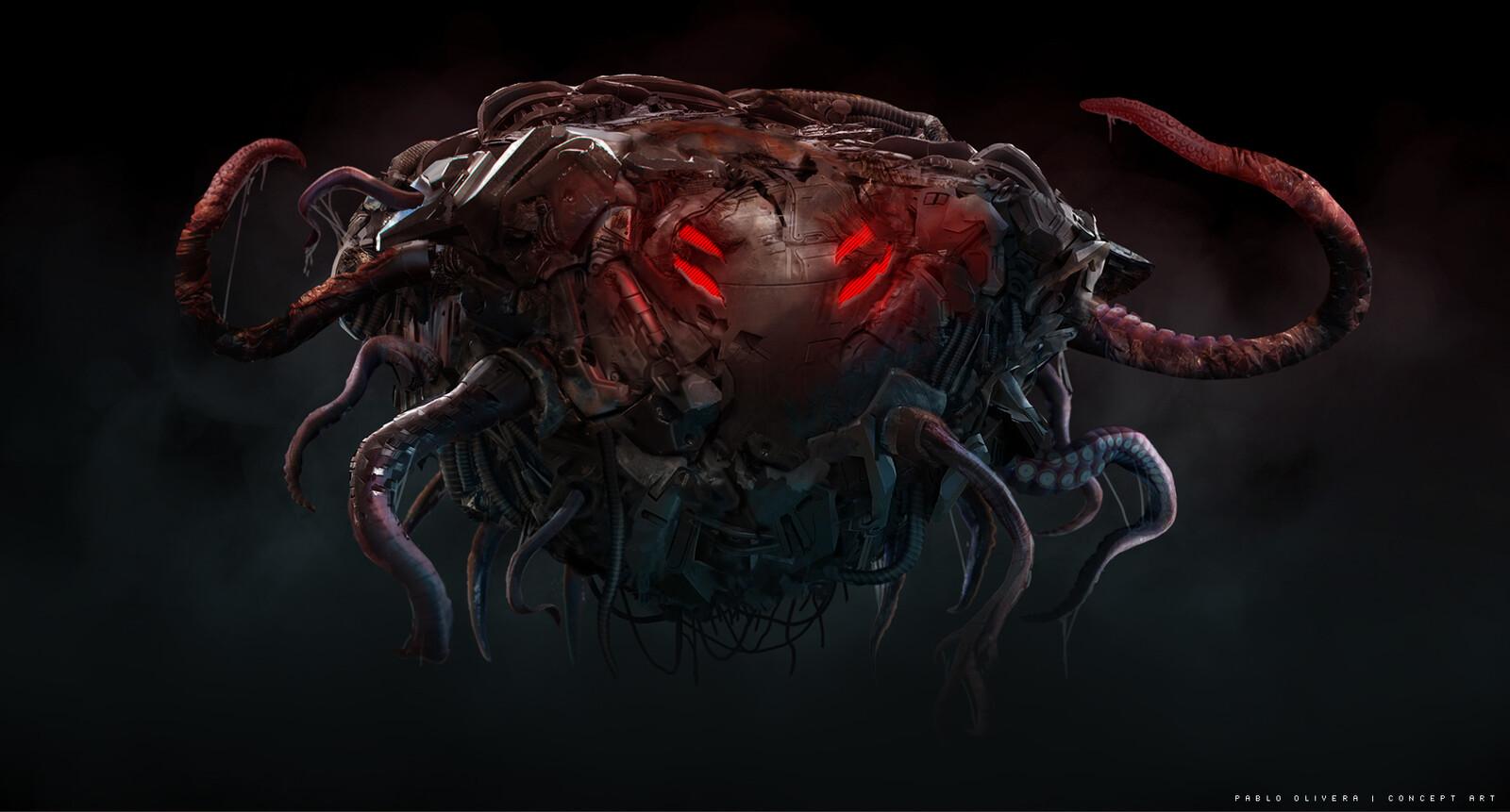 AF5- Ultimate Terraborg / creature design