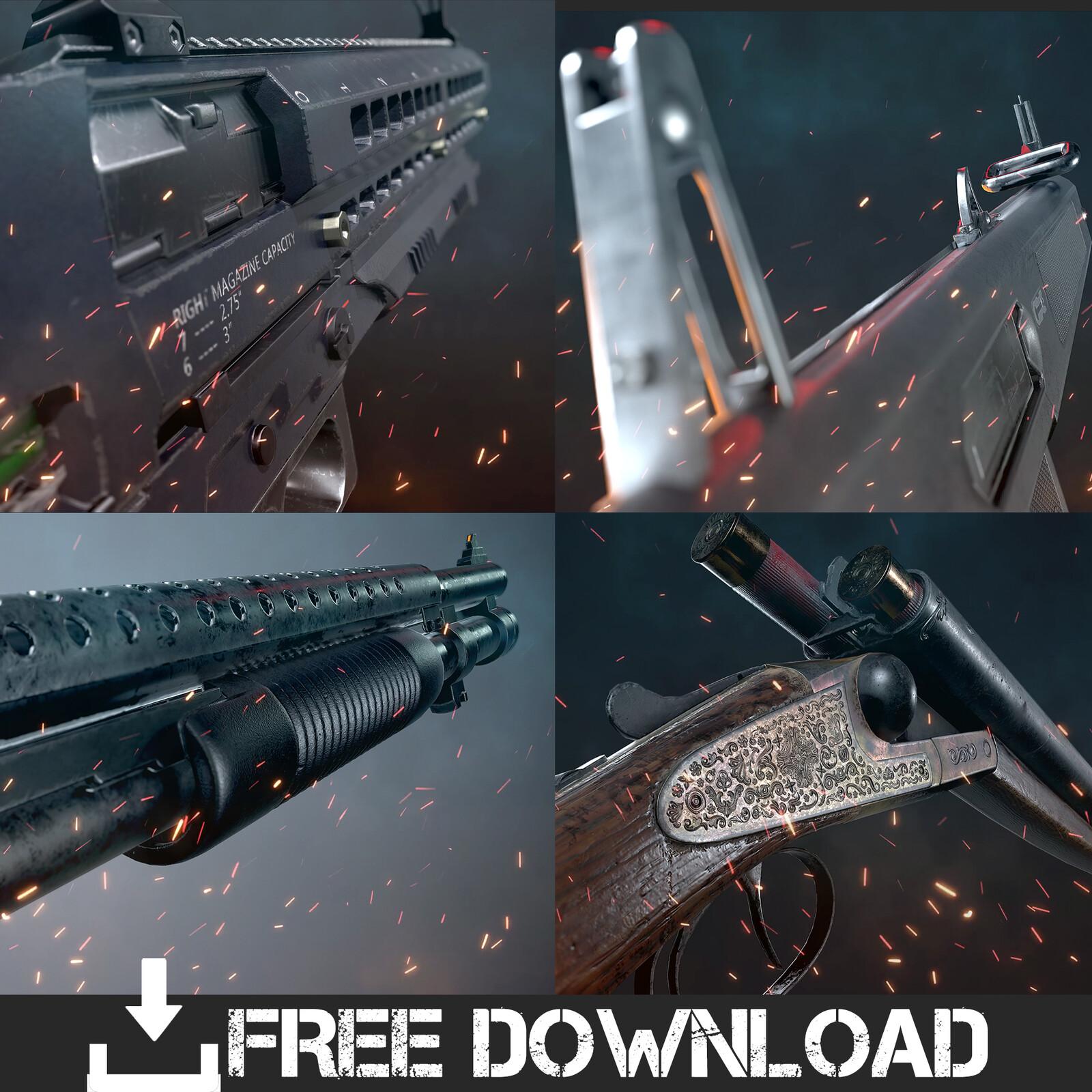 Free Shotguns
