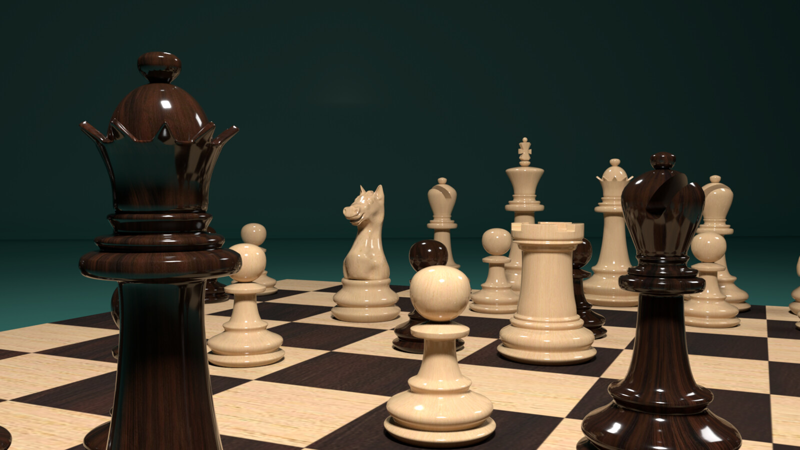 Chessboard view 1
