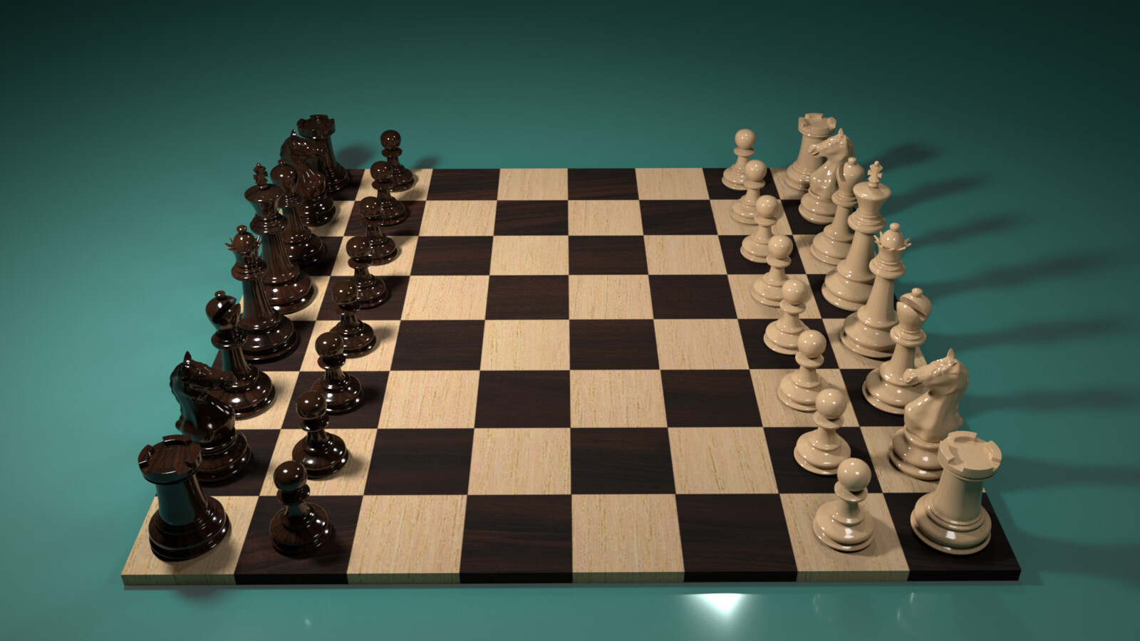 Chessboard view 3