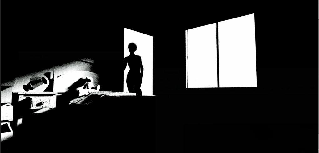 Shadow shape read