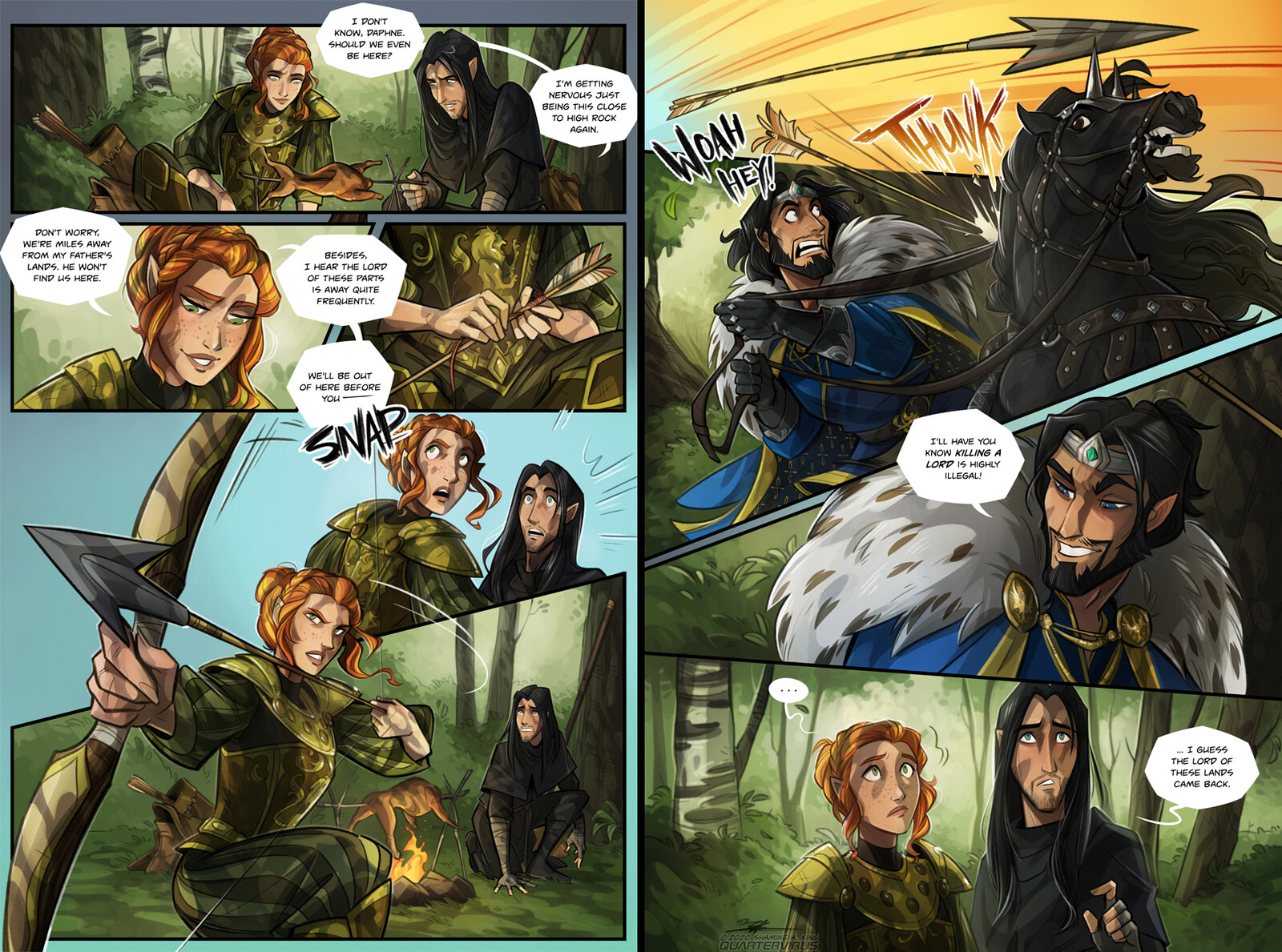 Jaris-the-Breton now exists on EU, along with Jarys-the-Dunmer. Tamriel won't know what hit it  That one time Tristane and Daphne crossed paths with Jaris... and almost killed him in the process.