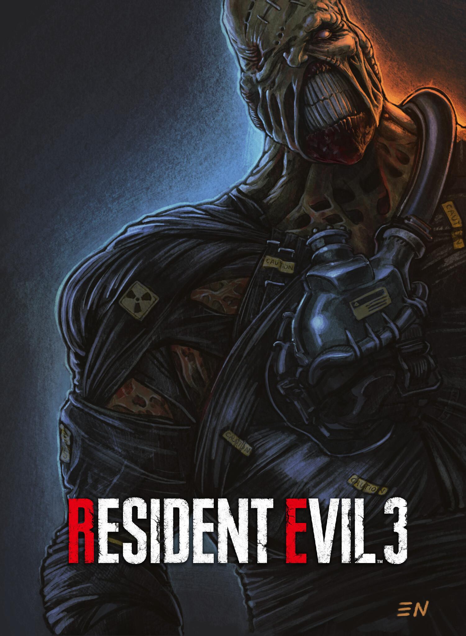 Artstation Nemesis Resident Evil 3 Remake Eugene Napadovskiy