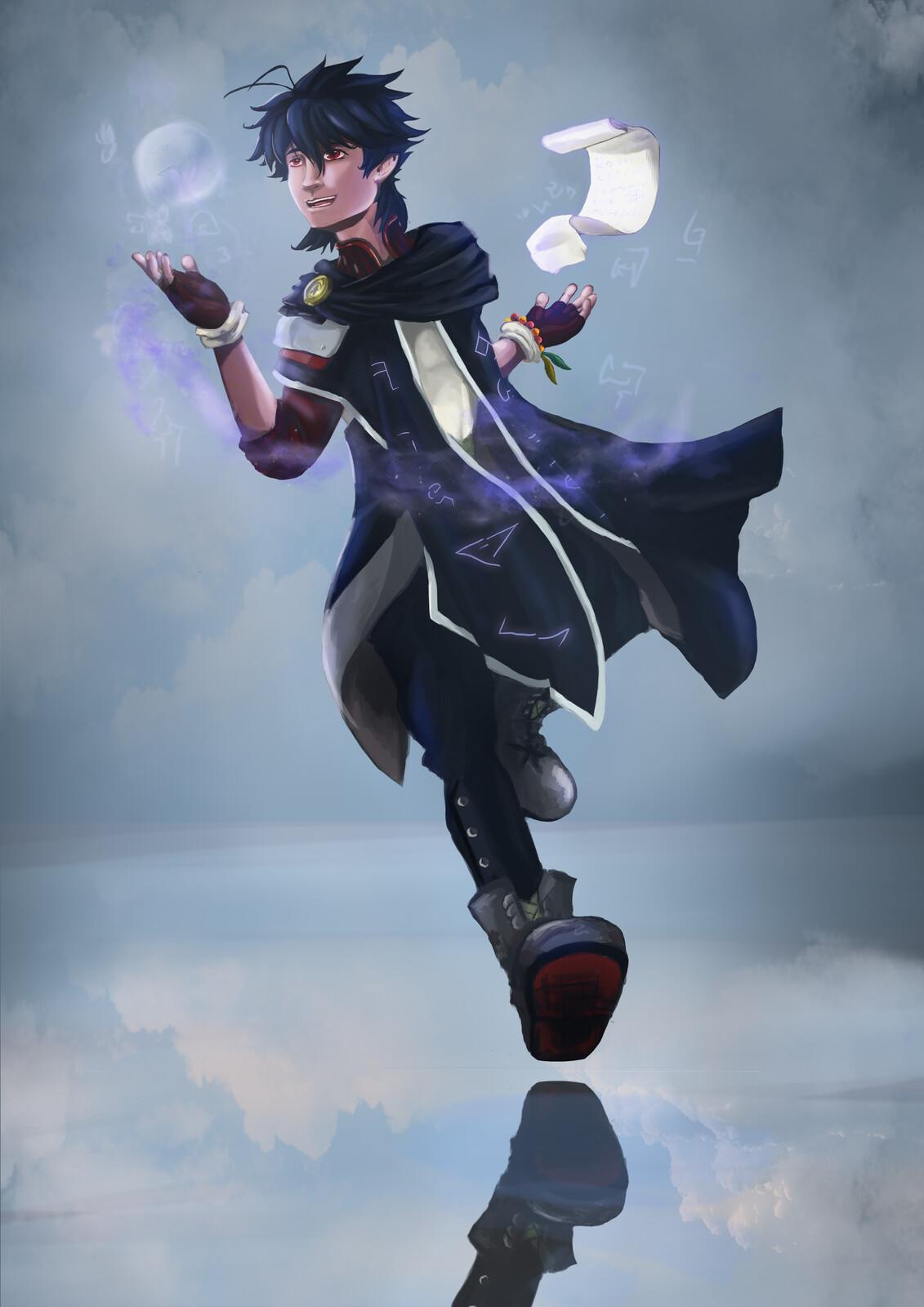 OC - Raffley Character Design: Arcane Mage
