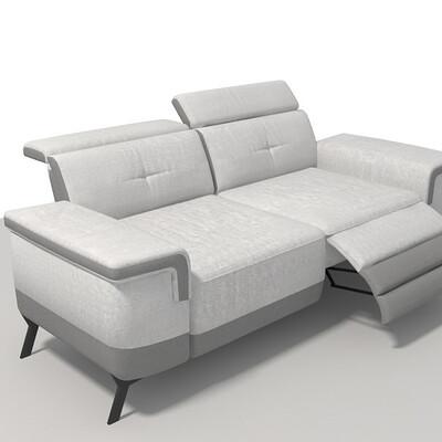 4894223215725 canape 3 place relax electrique 1