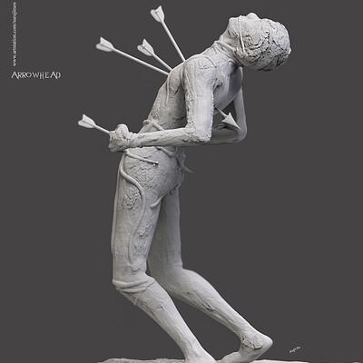 Surajit sen arrowhex digital sculpture surajitsen feb2020a