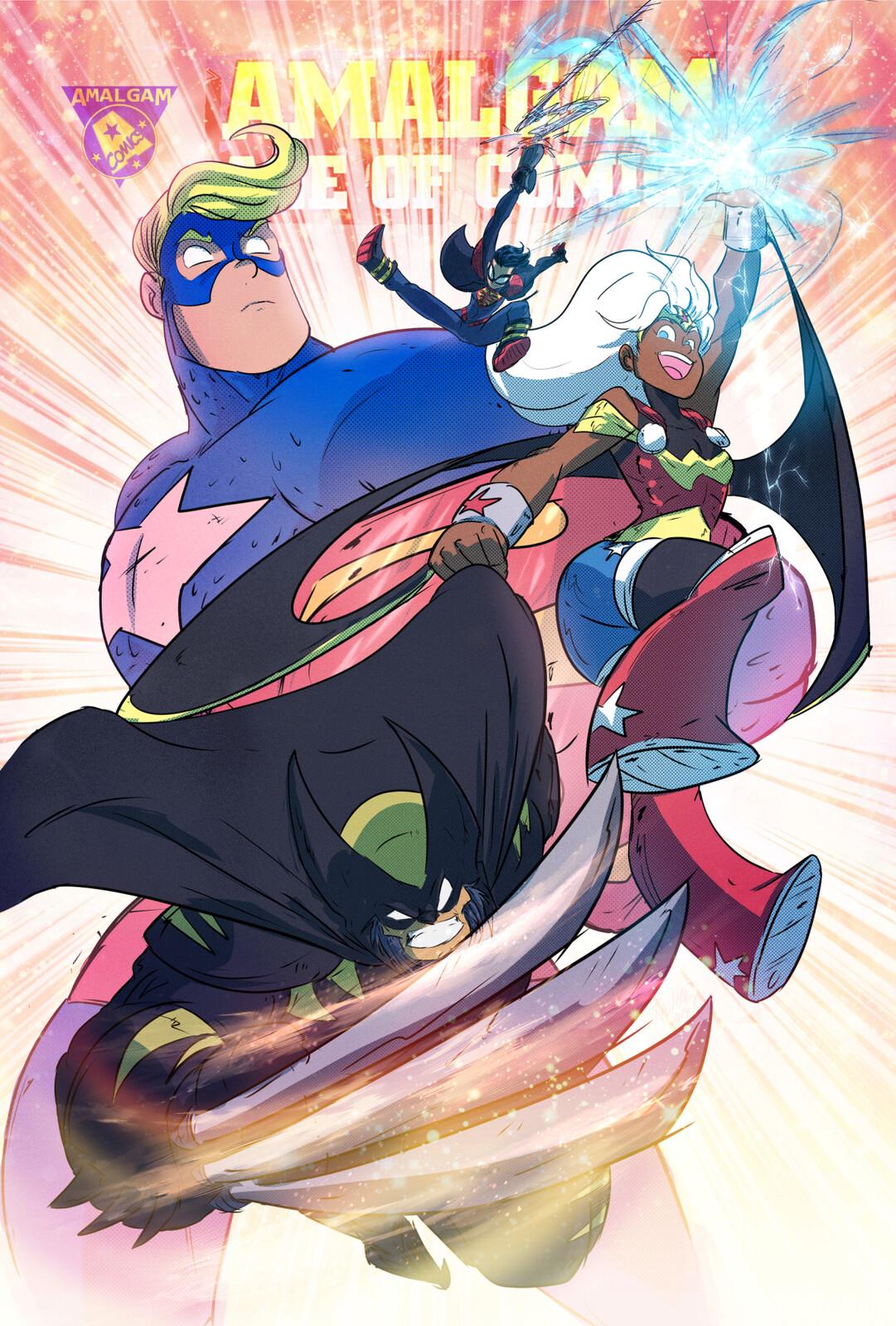 Amalgam Comics!!