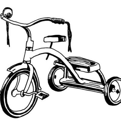 David blomo kids tricycle