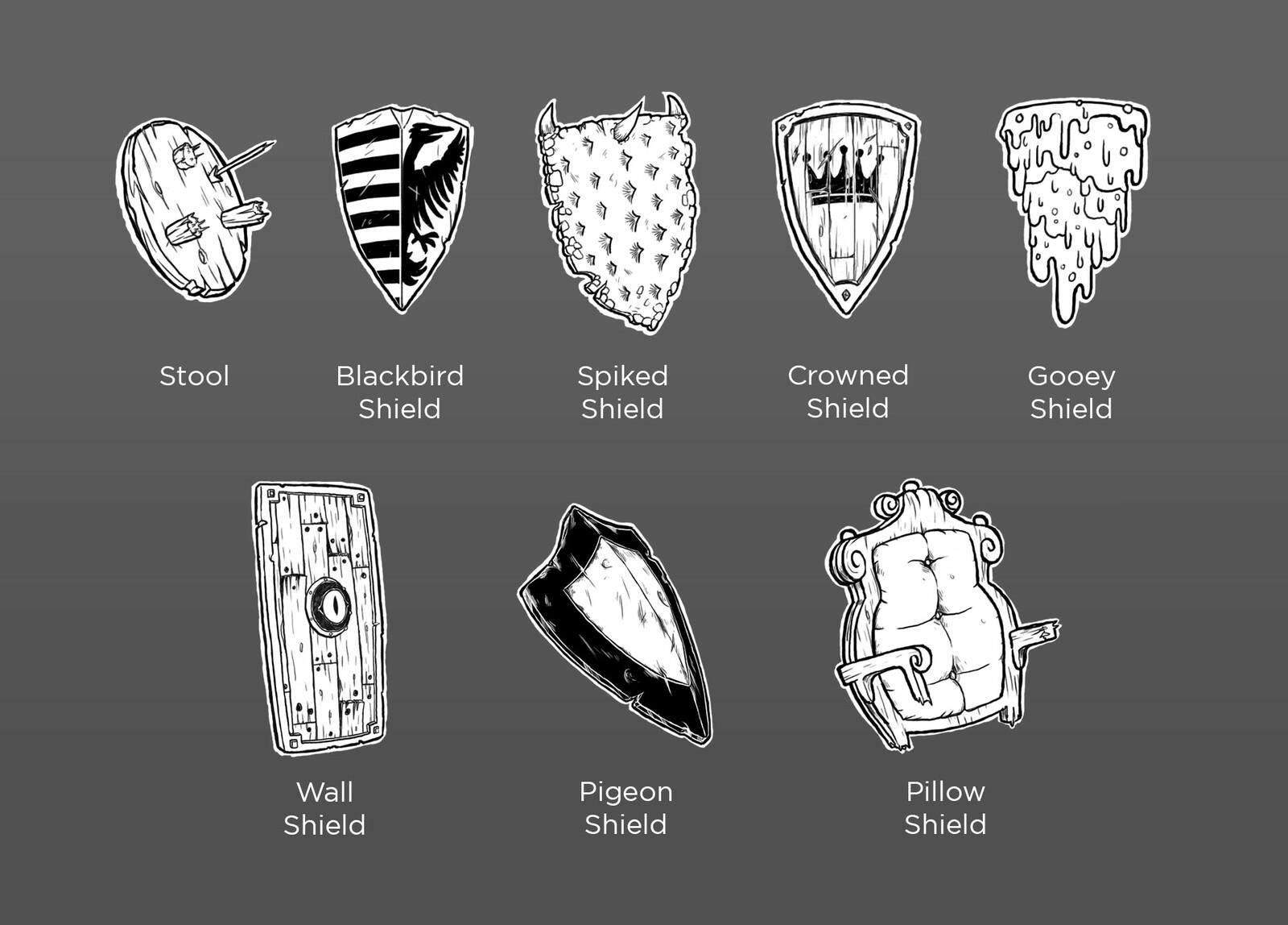 Shield concepts