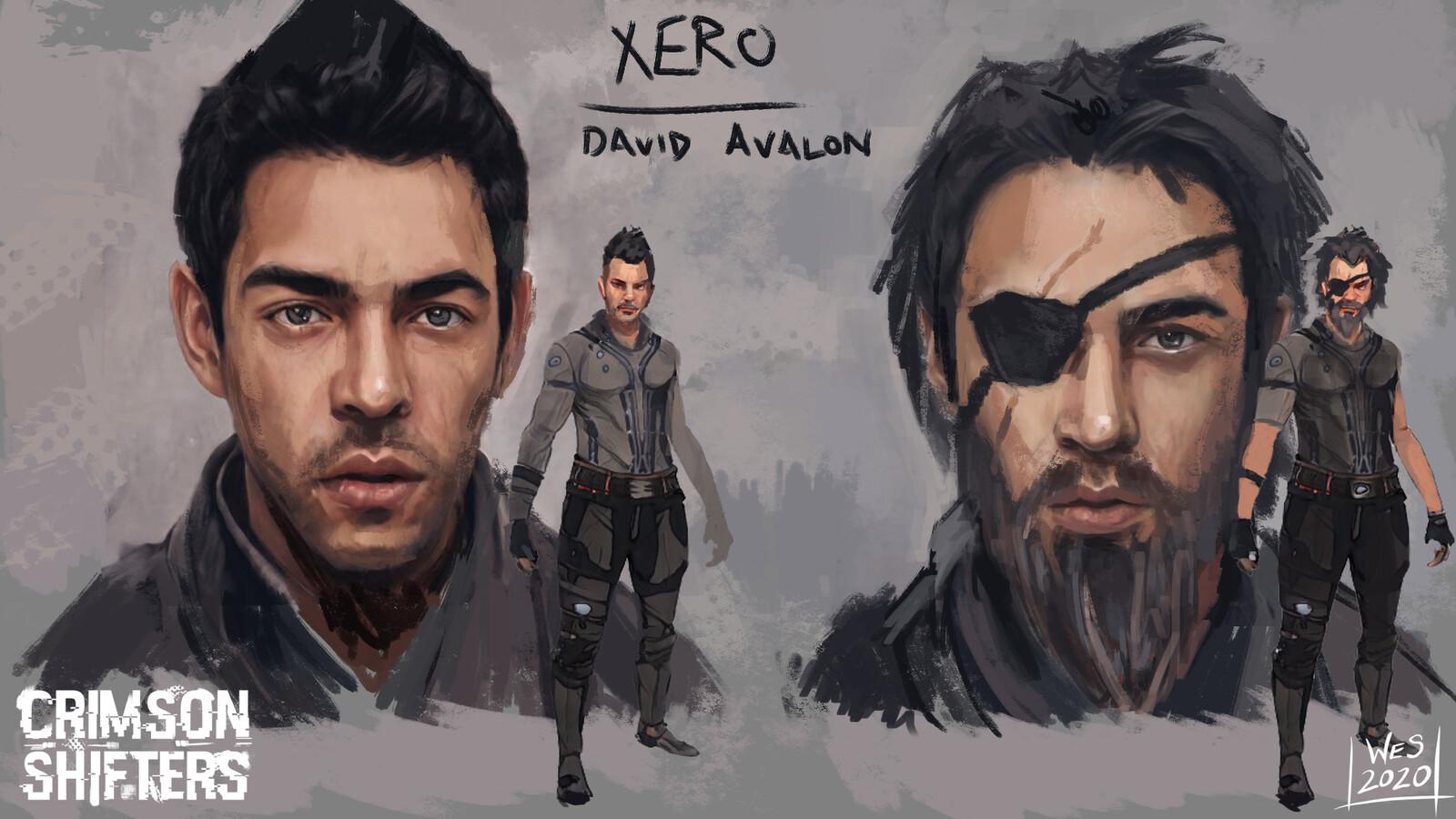 Crimson Shifters - Character Art - Xero