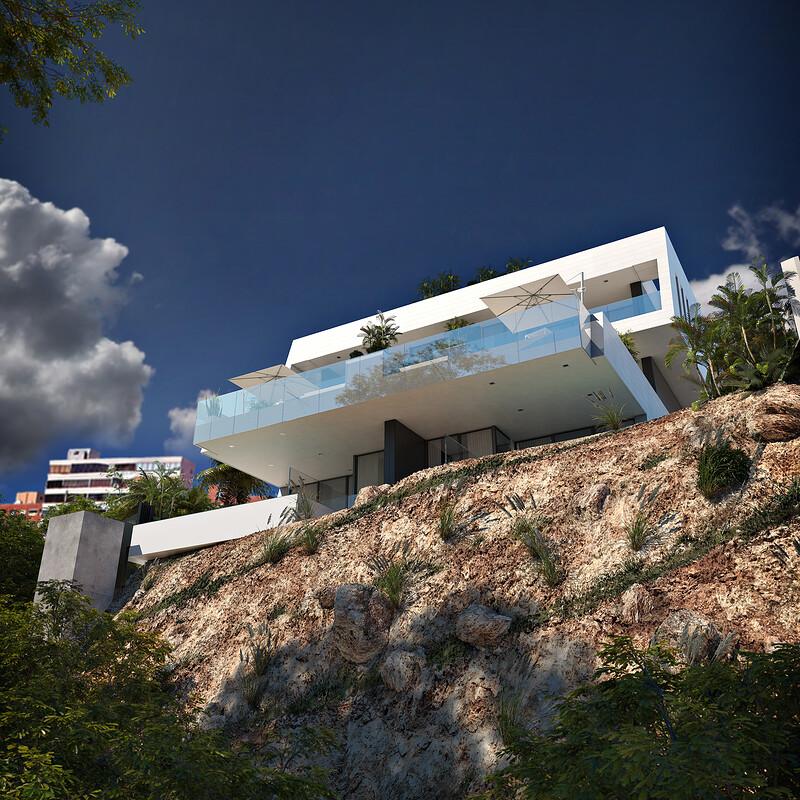 3D Cliff House