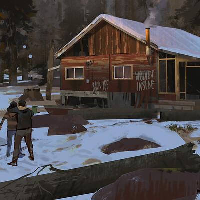 Edouard caplain copyright snow house