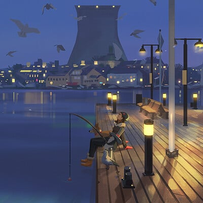 Atey ghailan final painting