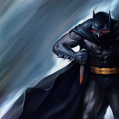 Velislav ivanov batman paint 12