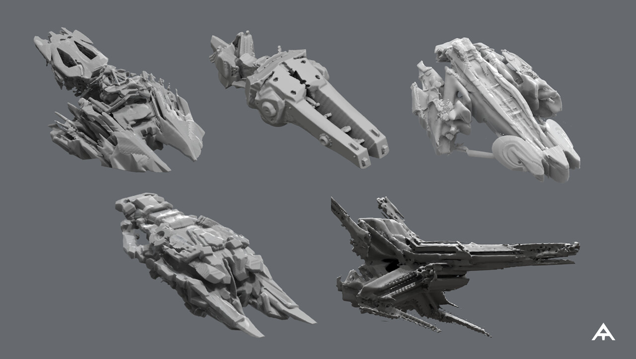 Initial concepts of the vehicle