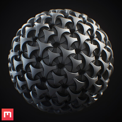[Mixer 2020] Procedural Metal Pattern